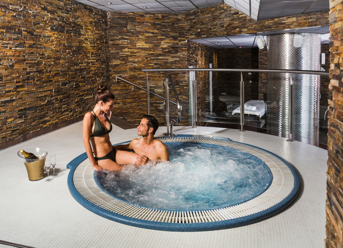 A private spa at Caldea? Discover it on your next couple's getawayada en pareja