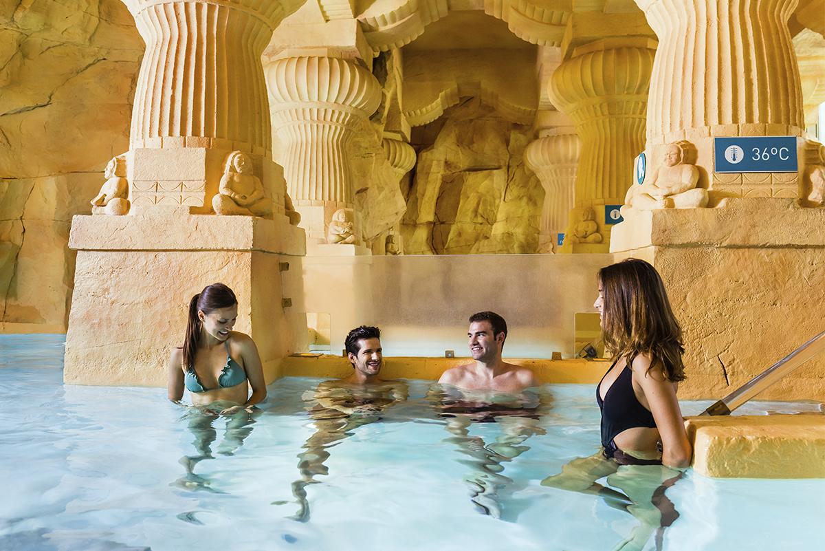 Discover The Indo Roman Baths At Caldea Andorra S Thermal Centre