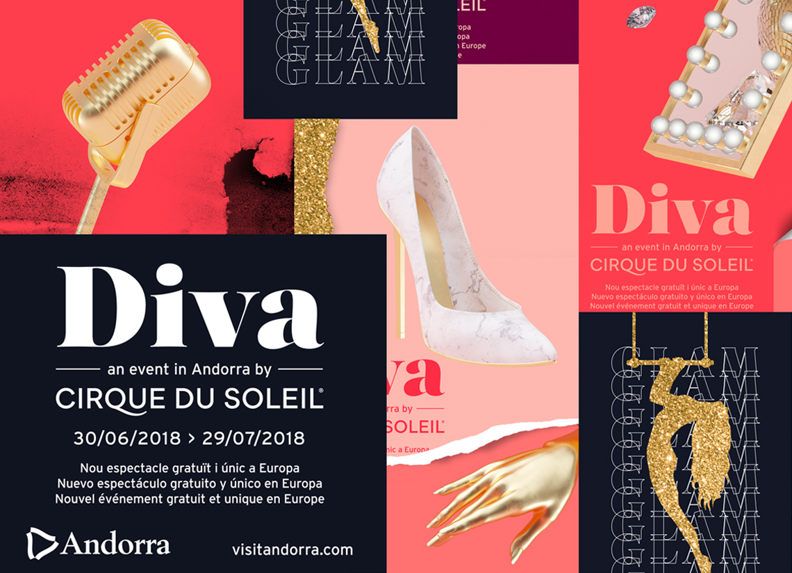 Diva: discover everything about the new Cirque du Soleil show in Andorra!