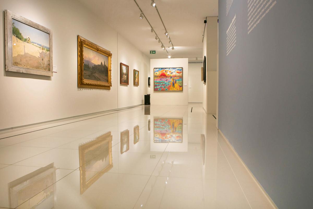 """Allées et venues"", the new exhibition at Museu Carmen Thyssen Andorra"