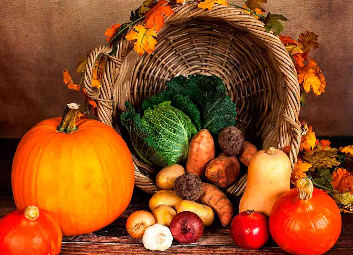 Seasonal foods to give you the energy to face autumn