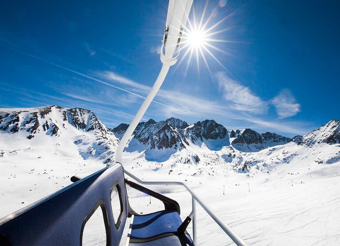 Esquí i Caldea: pont de desembre a Andorra
