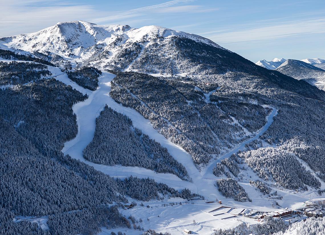 Esquia a Grandvalira i després… Caldea!