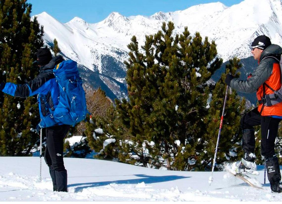 El esquí de montaña está de moda. ¿Te animas a probarl …