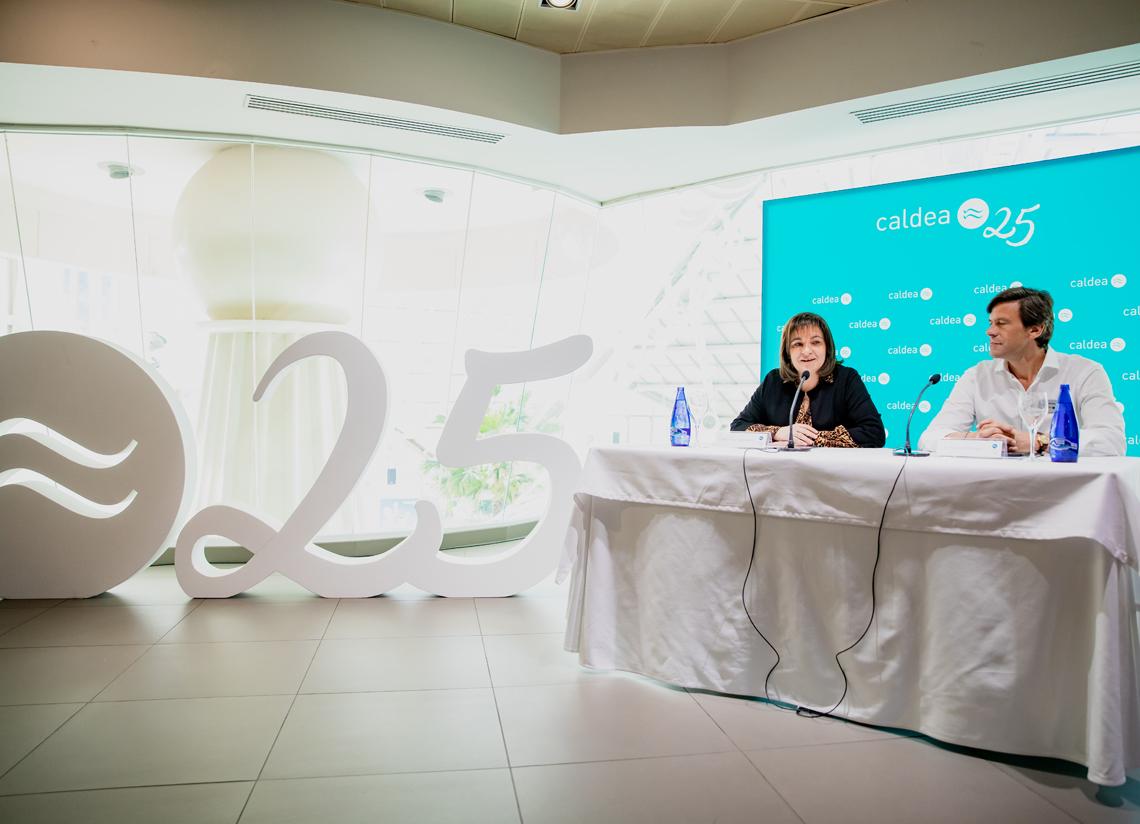 Caldea celebra su 25 aniversario con un plan especial de a …