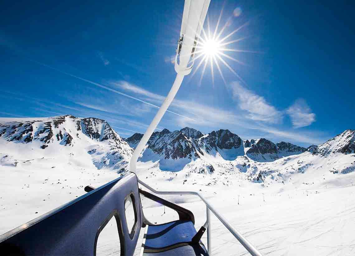 The perfect plan for a couple's ski getaway in Andorra