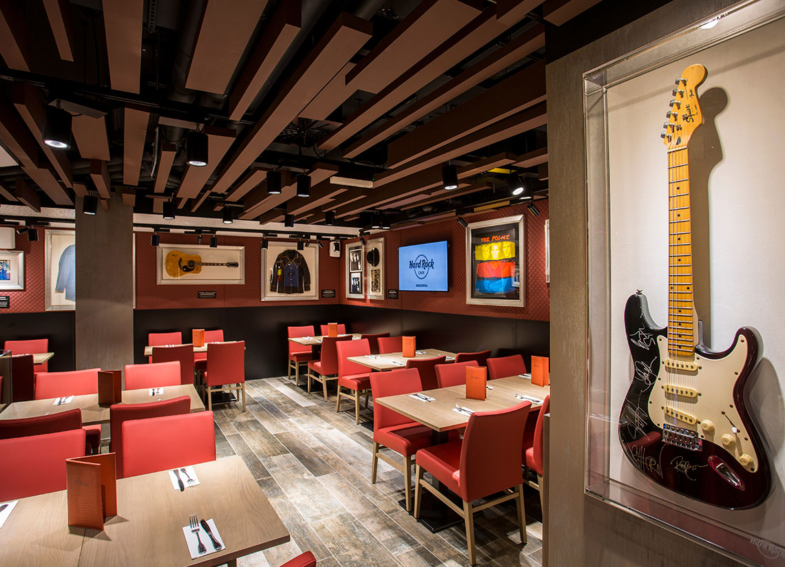 Caldea and Hard Rock Cafe: the perfect combo for a spring getaway