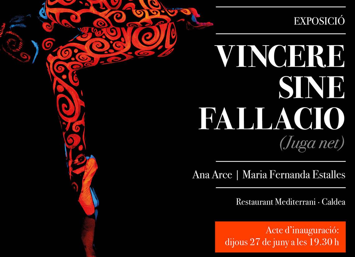 Caldea inaugura l'exposició VINCERE SINE FALLACIO (JUGA …