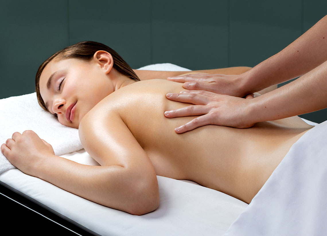 After skiing in Andorra… massage and relaxation!