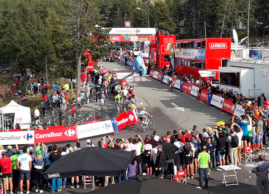 The Vuelta cycle race returns to Andorra once again this y …