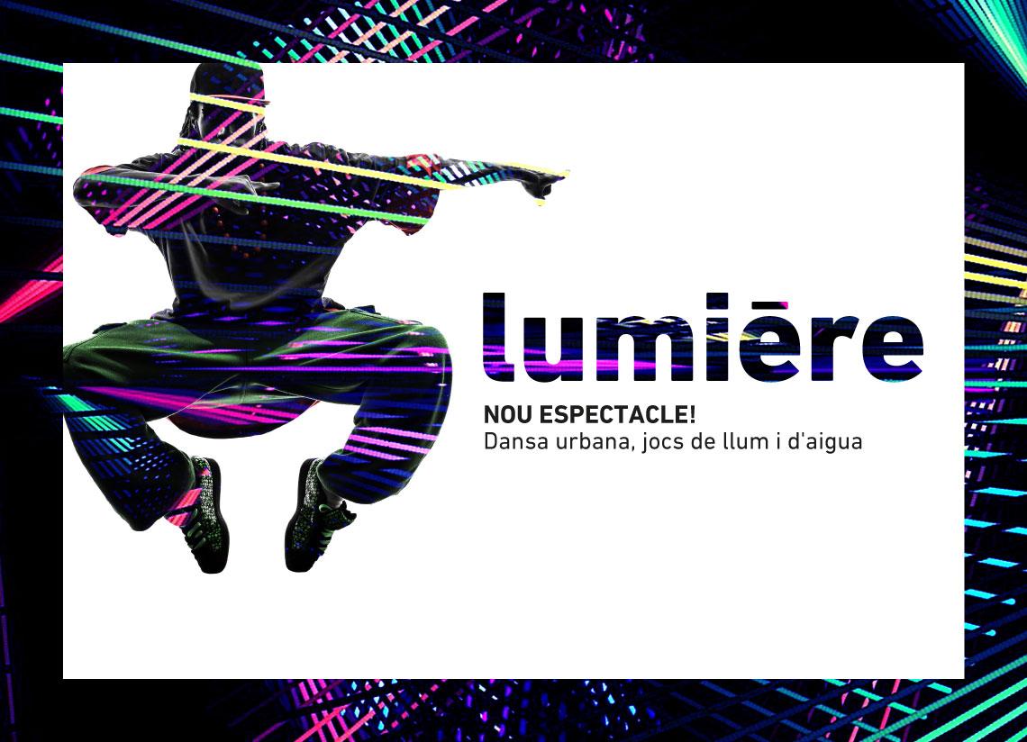 """""""Lumière"""", el nou espectacle de Caldea, el millor pla …"""