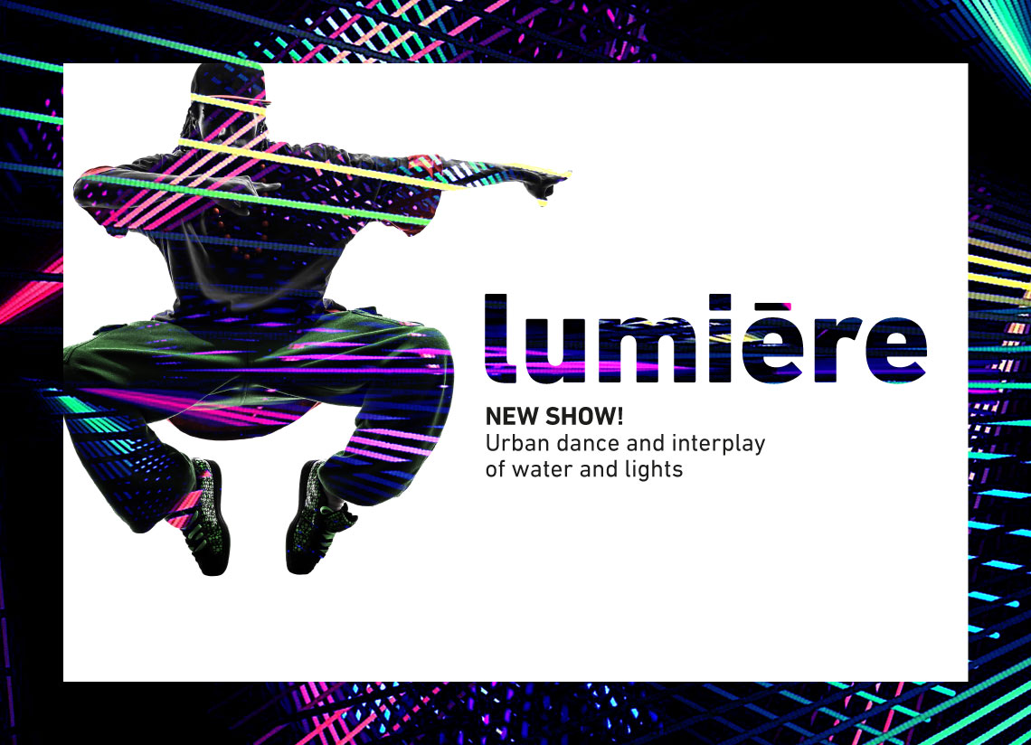 Lumière, Caldea's new show, the best plan for the November long weekend