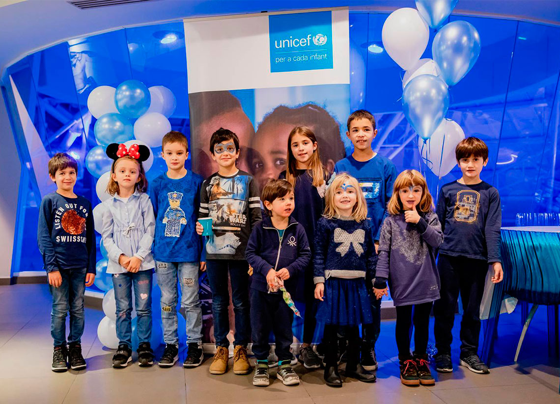 Caldea celebra la Jornada per a Infants d'Unicef, amb mo …