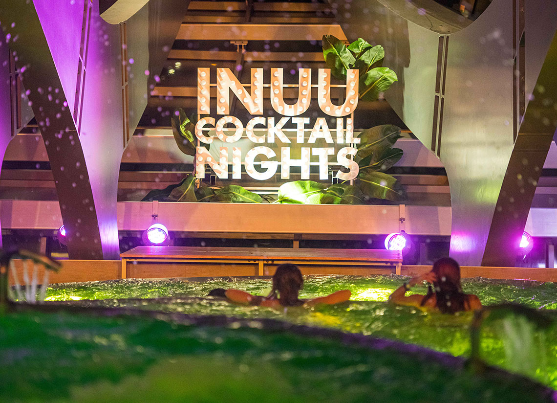 Inúu's Cocktail Nights return for the December long wee …