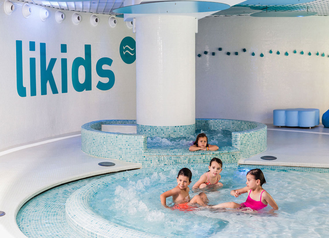 This winter, kids aged 3 and above can discover the spa wo …
