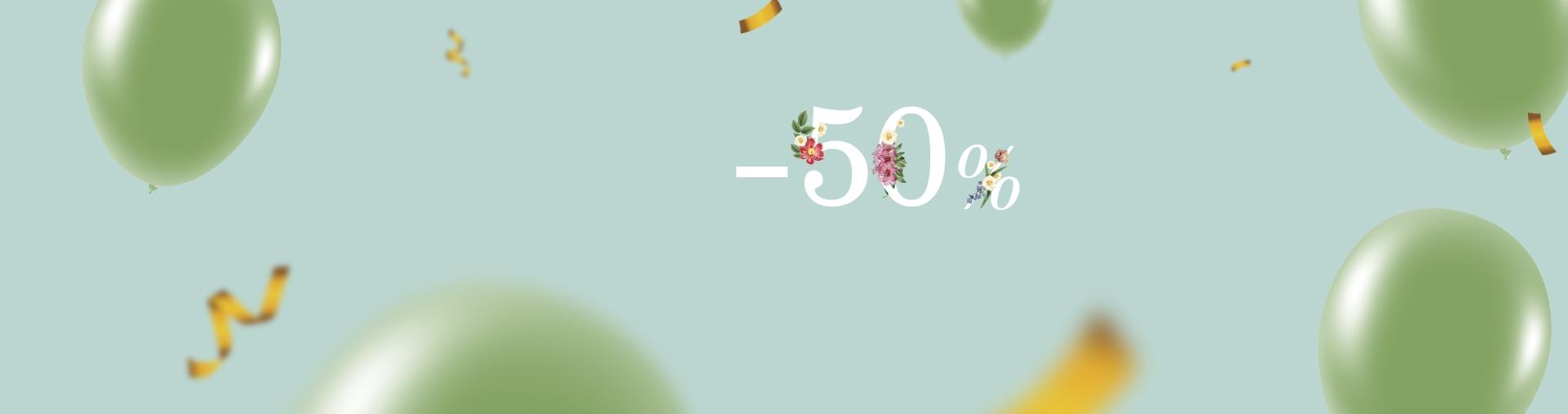 50% SPRING